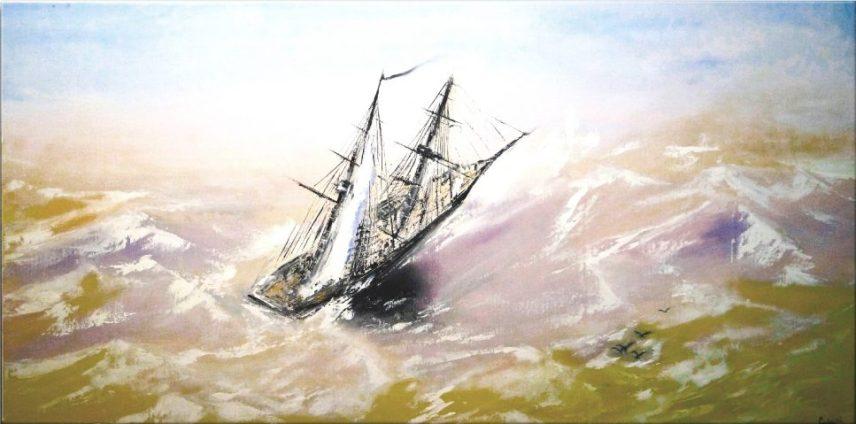 Segelboot Art Nr. 416