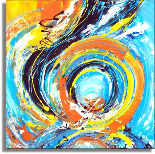 Abstrakt Art Nr. 455
