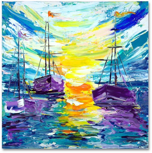 Segelboot Art Nr. 487