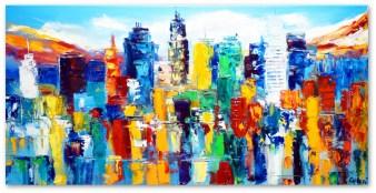 Skyline Abstrakt Art. Nr. 602