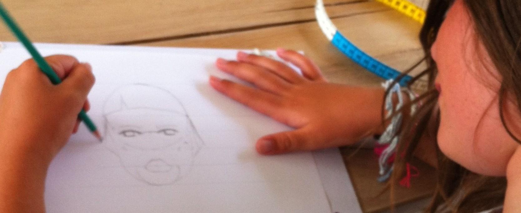 dessin de styliste