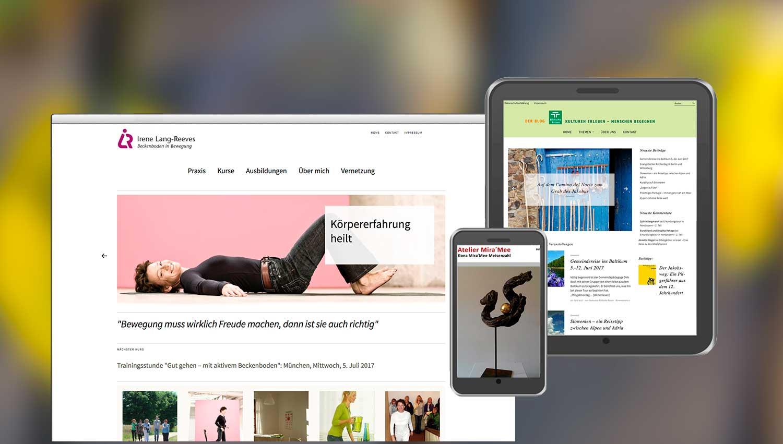 Aufmacherbild Wohlfühl-Homepages von Frank Fischer