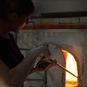 Eve George Atelier soufflage de verre