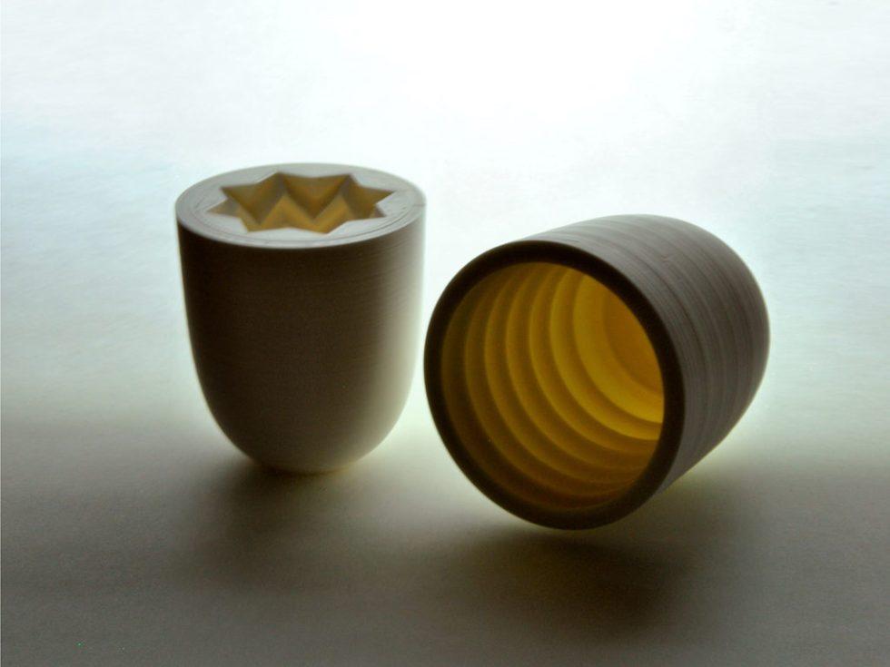 moule optique peau impression 3D verre soufflé