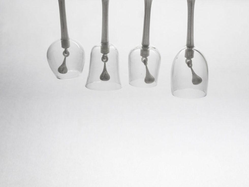 tintement cloches impression 3D verre à pied historique