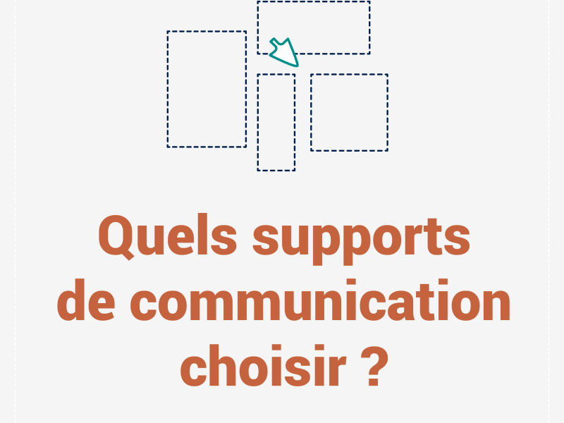 Quels supports de communication choisir ?