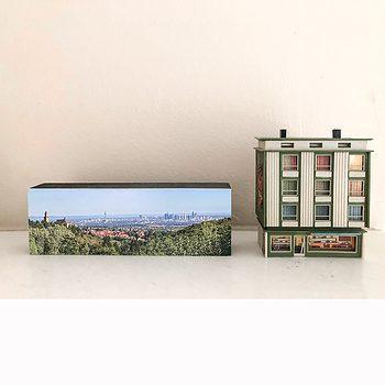 Frankfurter Skyline - Malerblick
