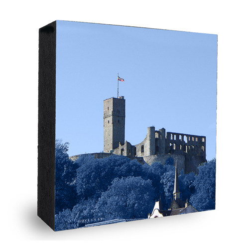 Burg Königstein - blau
