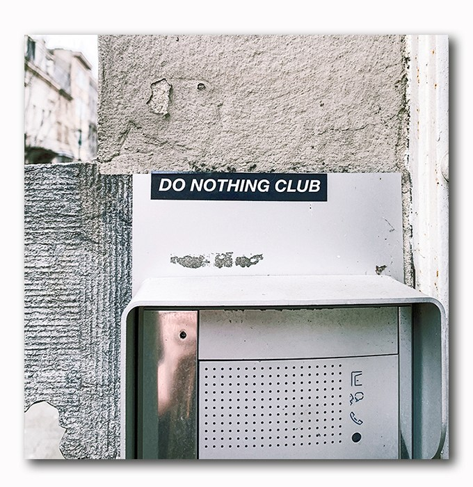Do nothing club - Atelier Klick Blick