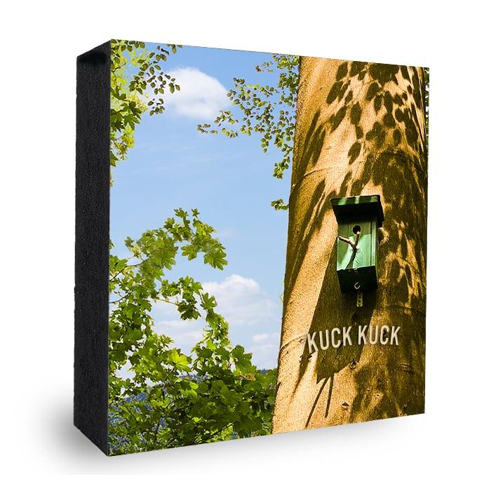 Neues Zuhause - Bild auf Holz Atelier Klick Blick