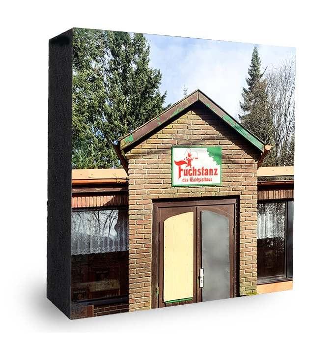 Fuchstanz Bild auf Holz - Atelier Klick Blick