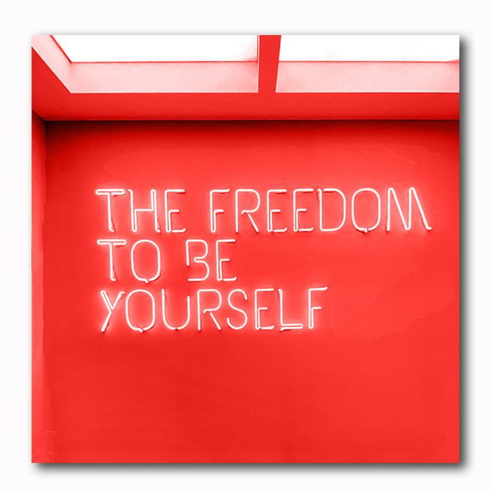 Freedom Foto auf Holz- Atelier Klick Blick