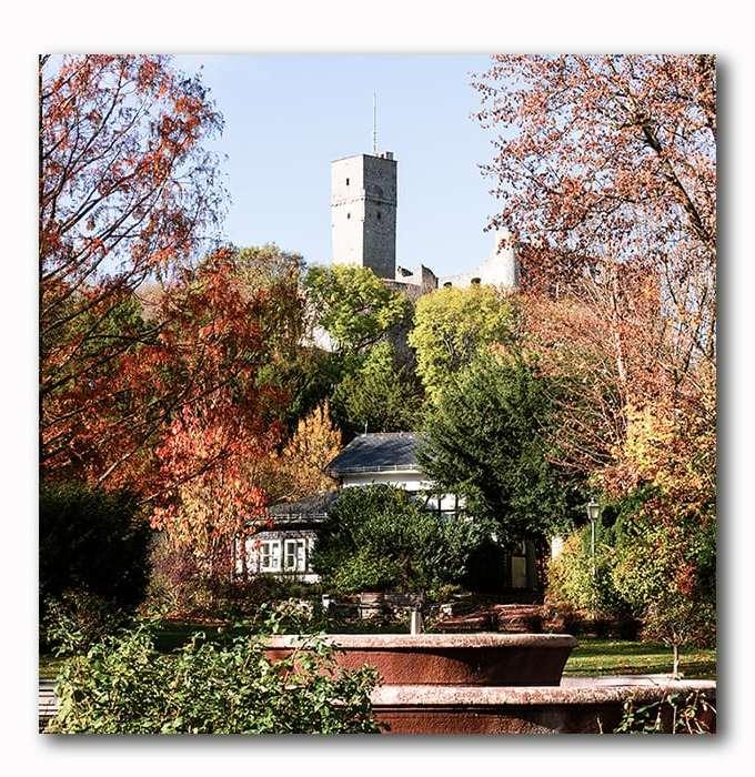 Königsteiner Burg mit Brunnen