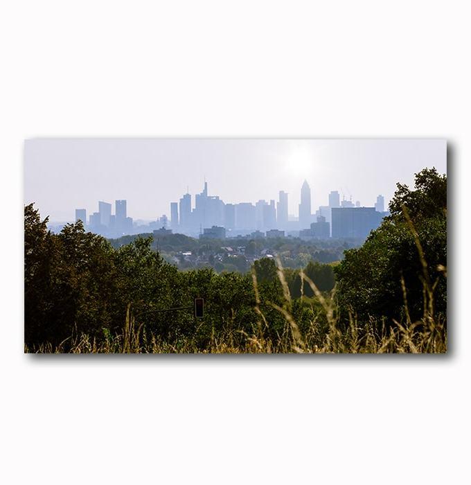 Skyline Frankfurt Morgenstimmung