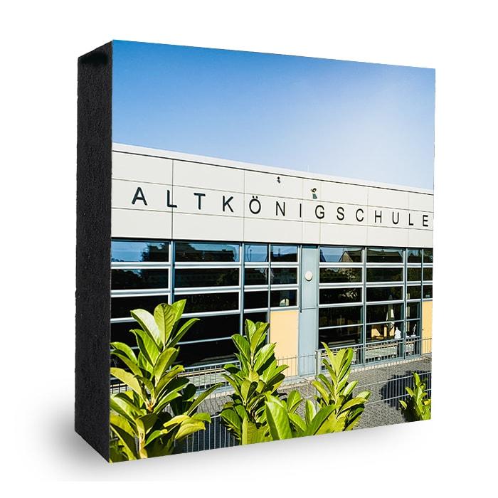 AKS Kronberg Bild auf Holz