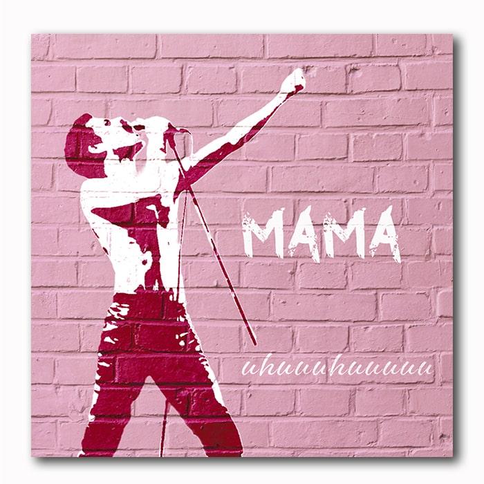 Mama-Bohemian Rhapsody-Graffiti Style