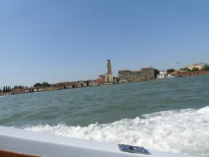 ムラーノ島への船