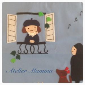 窓辺の女の子