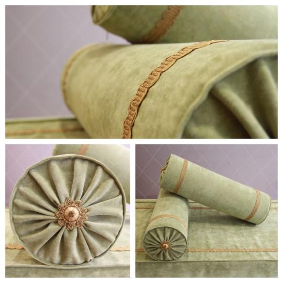creation d'un habillage classique de lit bateau style Directoire