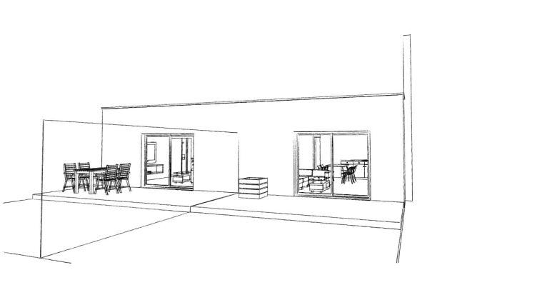 14.02 Extension de maison Dunkerque - Atelier permis de construire12