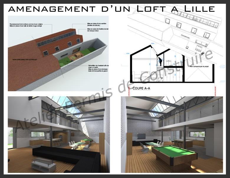 12.12 Atelier permis de construire Loft Lille