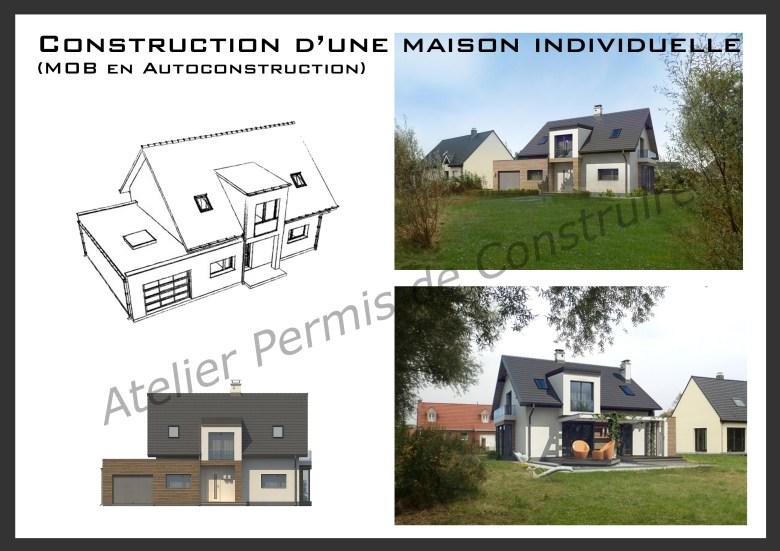 12.21. Atelier permis de construire Maison Calonne sur la Lys
