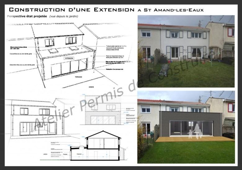 13.12. Atelier permis de construire - Extension St Amand-les-Eaux