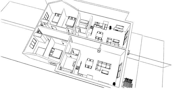 14.02 Extension de maison Dunkerque - Atelier permis de construire3