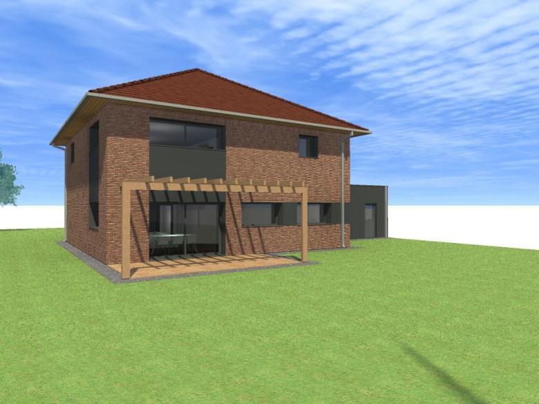 15.01 projet permis de construire nord Lecelles9