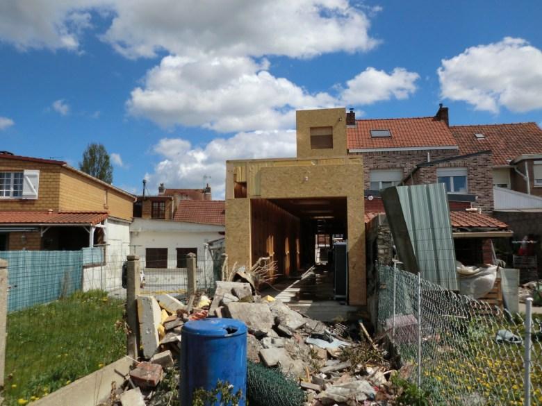 14.08 Extension maison étroite Dunkerque - Atelier permis de construire11