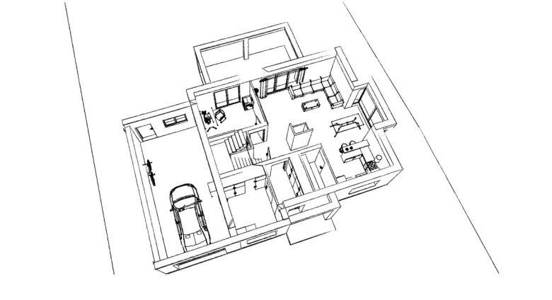 15.09 Construction maison nord - projet permis de construire Laventie1