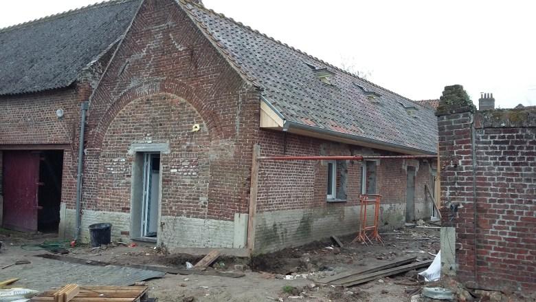 15.12 rénovation d'une grange Nord Permis de construire Fline-lez-raches11
