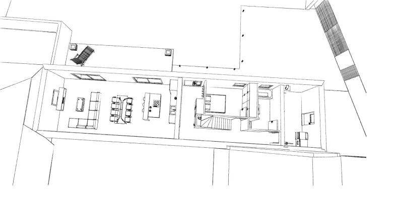 15.12 rénovation d'une grange Nord Permis de construire Fline-lez-raches4