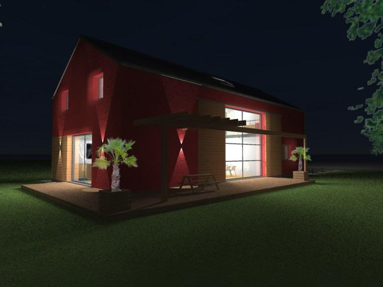 15.08 Atelier Permis de construire construction maison Loft La Gorgue12.1