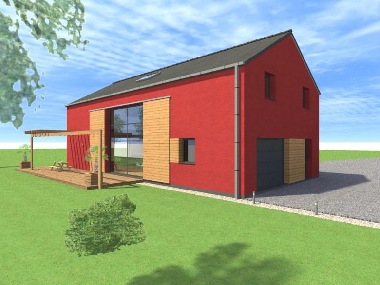 15.08 Atelier Permis de construire construction maison Loft La Gorgue14