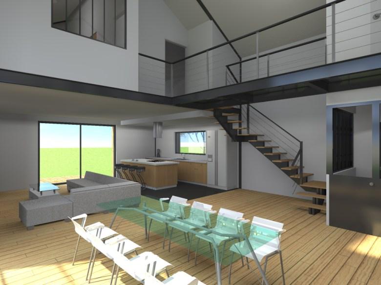 15.08 Atelier Permis de construire construction maison Loft La Gorgue18