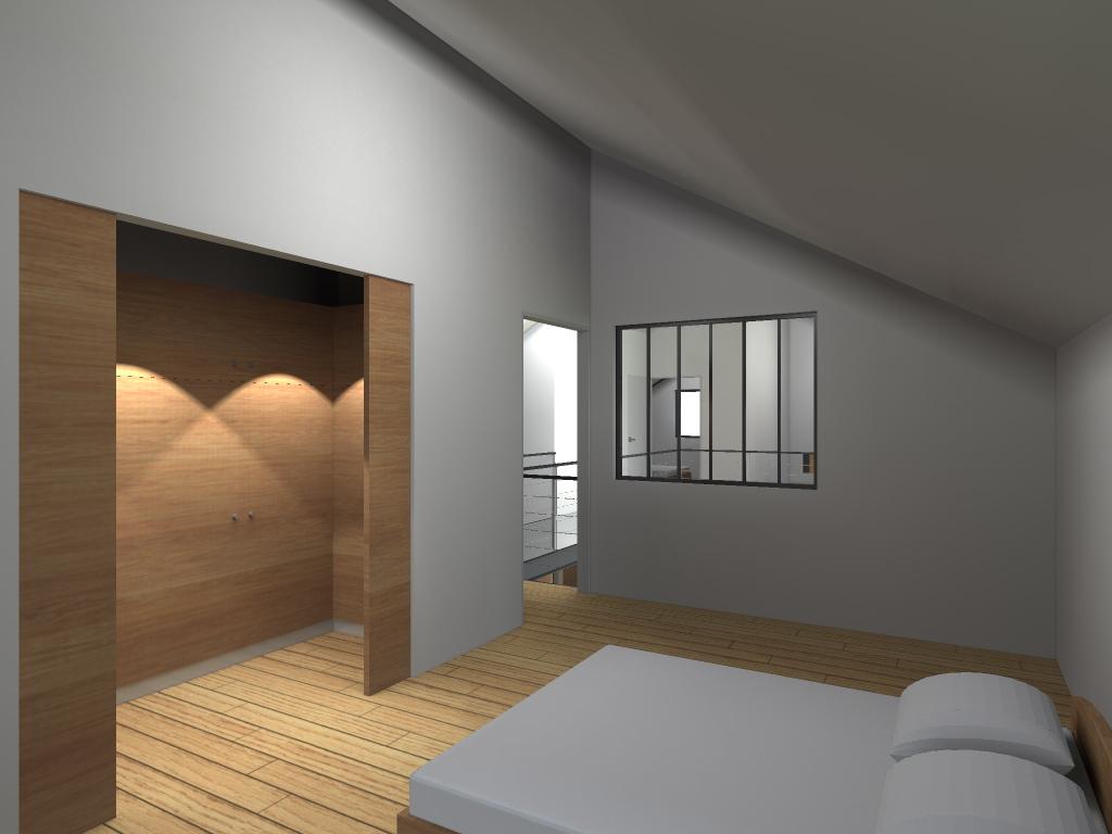 atelier permis de construire construction maison loft la gorgue29. Black Bedroom Furniture Sets. Home Design Ideas