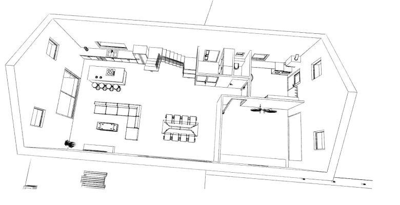 15.08 Atelier Permis de construire construction maison Loft La Gorgue5
