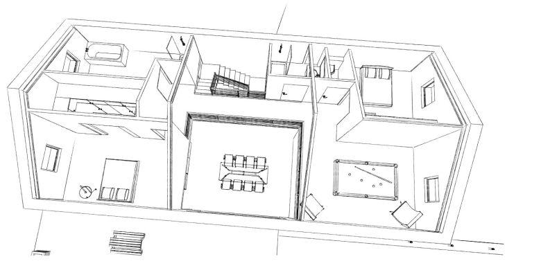 15.08 Atelier Permis de construire construction maison Loft La Gorgue6