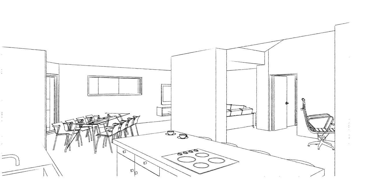Transformation d 39 un atelier en habitation avec la cr ation for Transformation grange en habitation permis de construire