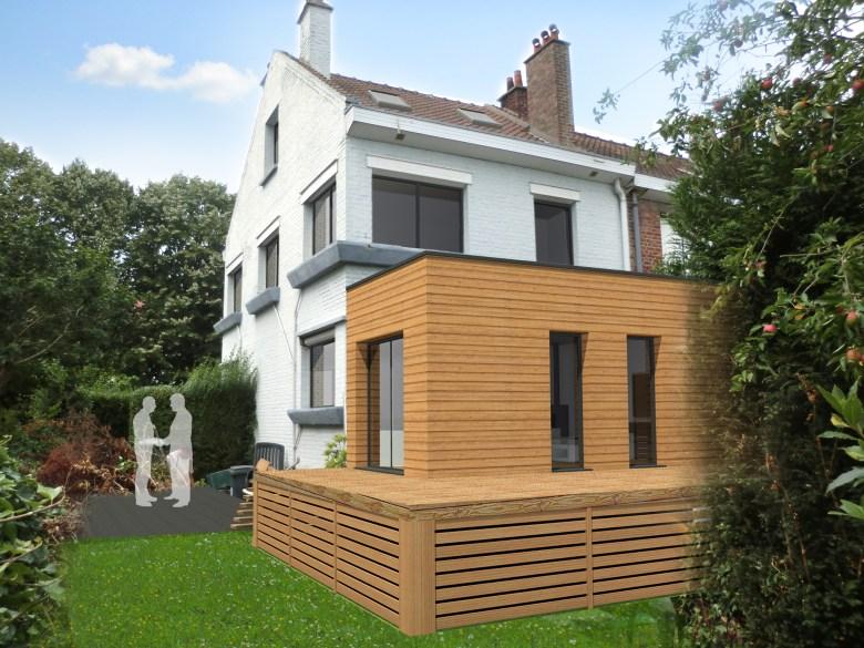 15.29 Atelier Permis de construire extension nord Marcq en Baroeul13
