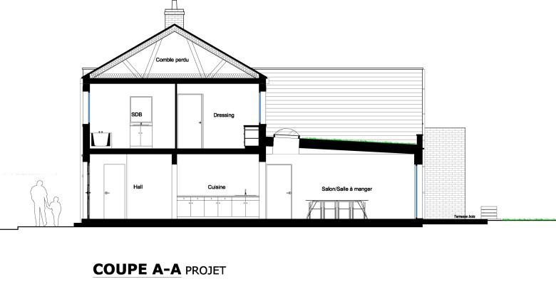 15.26 Extension maison permis de construire nord Valenciennes22