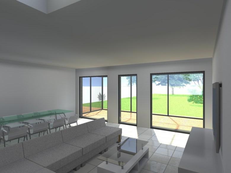 15.26 Extension maison permis de construire nord Valenciennes25