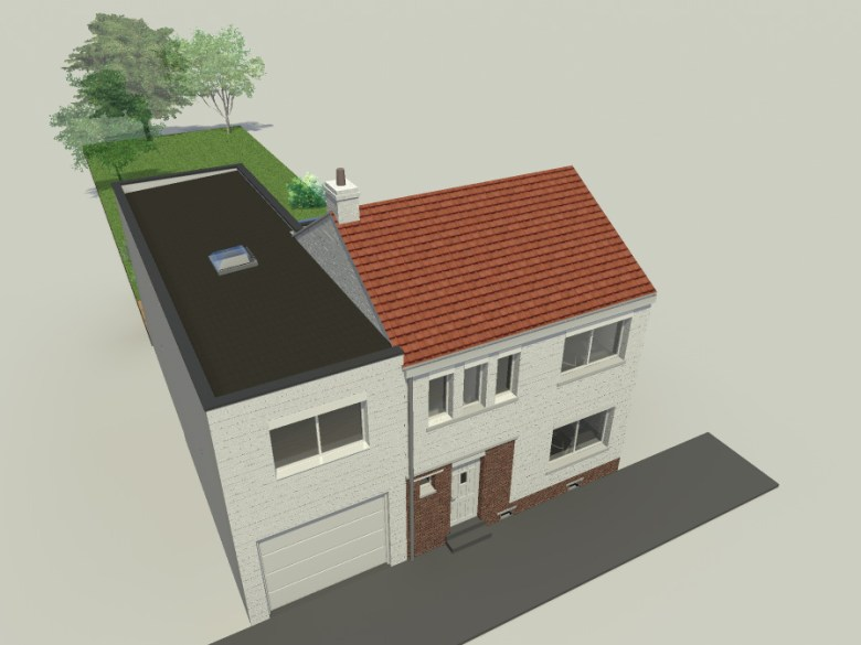 15.26 Extension maison permis de construire nord Valenciennes3