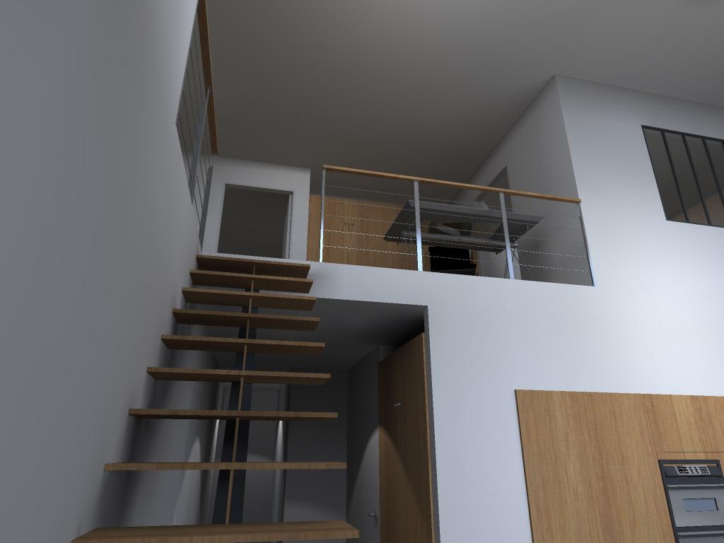 transformation d 39 un hangar en loft dunkerque. Black Bedroom Furniture Sets. Home Design Ideas