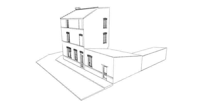 16.33 permis de construire division maison Lille11.1