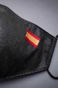 mascarilla bandera españa con filtro