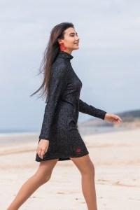 Vestido flamenca Atelier Rima negro 2