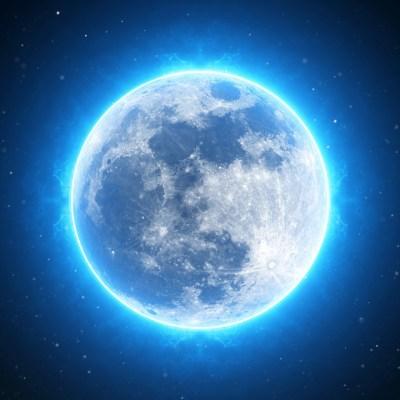 満月 ブルームーン