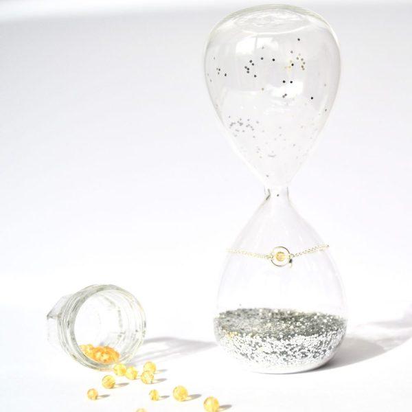 bijoux-pierre-argent-vrai-bracelets-funambule-lithotérapie-Citrine-2